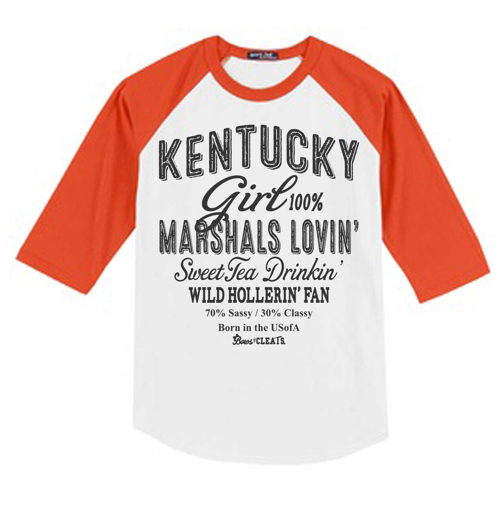 Marshals Raglan Color Youth Baseball Jersey