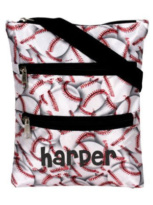 Crossbody White Baseball