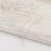 "Silver & Pearl Chain 30"" Necklace"