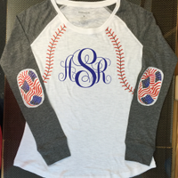 Baseball Preppy Patch Jersey