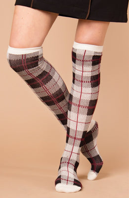 Perfectly Plaid Socks