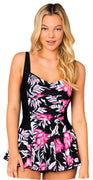 One Piece Skirted Tank
