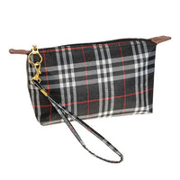 Plaid Tote or Wristlet