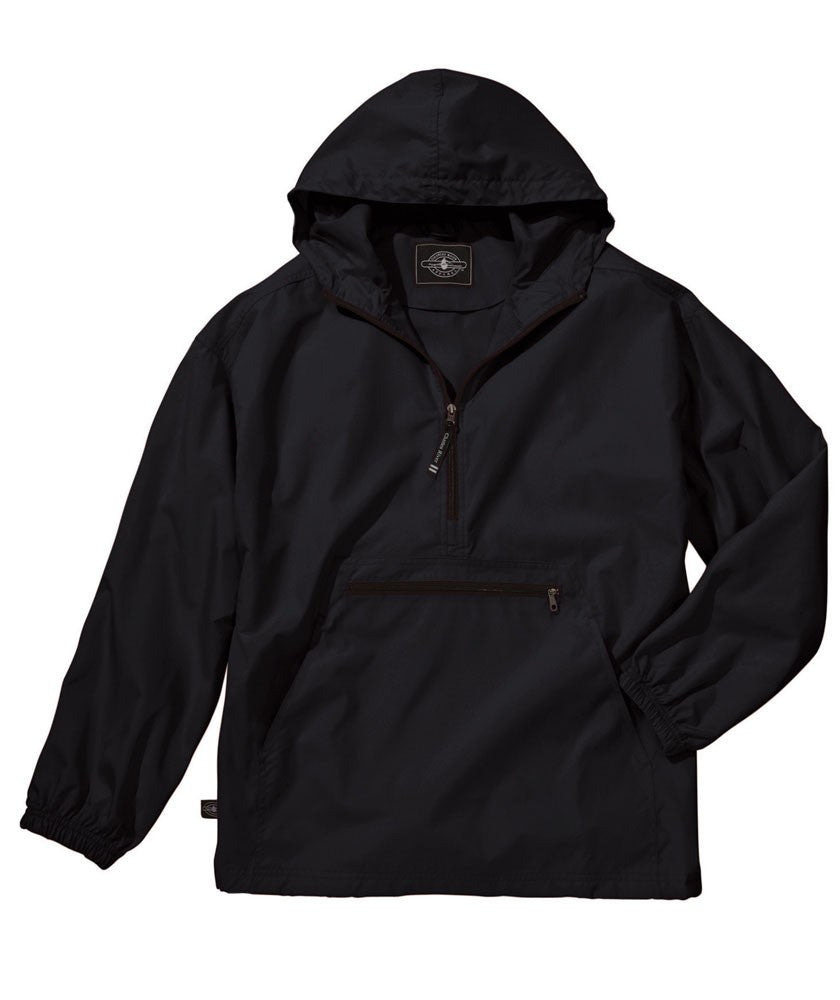 Youth Pack-n-Go Pullover/ Black