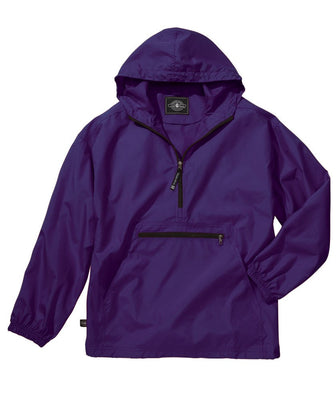 Youth Pack-n-Go Pullover/ Purple