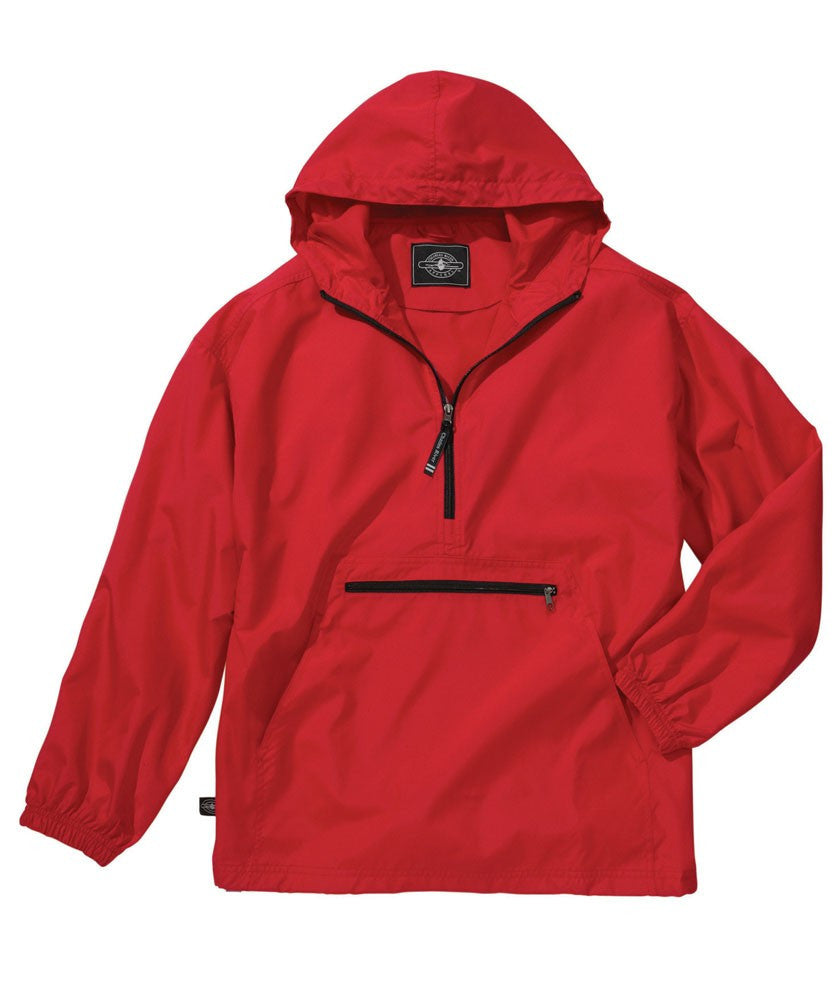 Youth Pack-n-Go Pullover/ Red