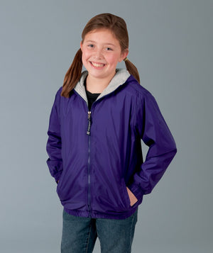 Youth Performer Jacket/ Purple