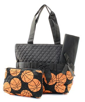 NNK Basketball Diaper Bag/Purse