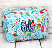 Sailboats Cosmetic Bag