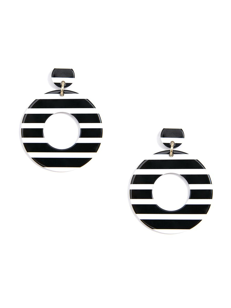 Chunky Striped Earrings