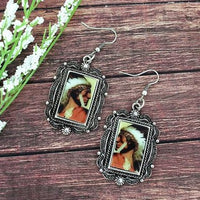 Framed Scenic Earrings