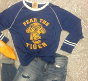 Fear The Tiger Ringer Tee