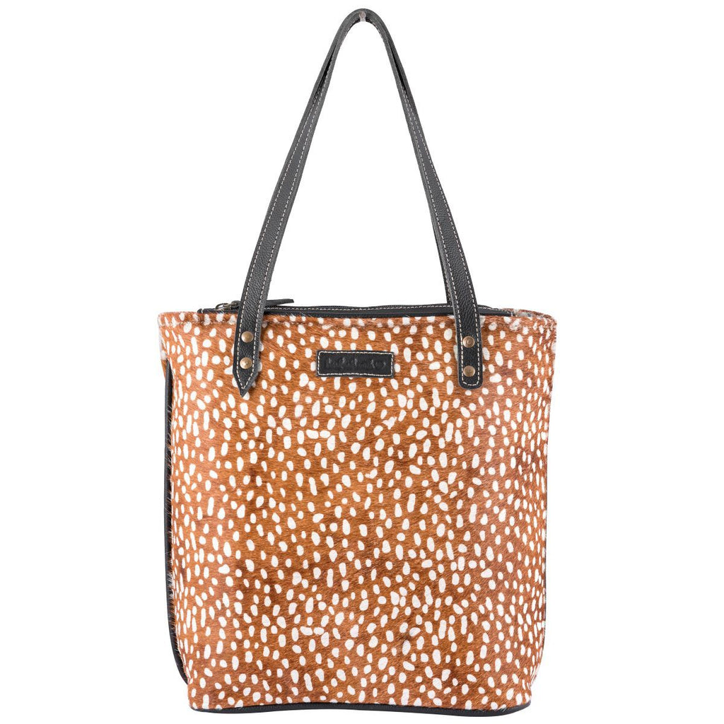 Deer Hairon Tote Bag