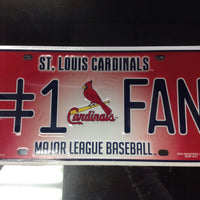St. Louis License Plate