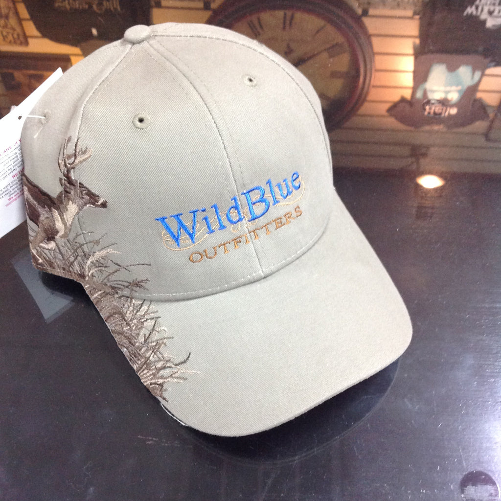 Wild Blue Outfitters Emb Buck Cap