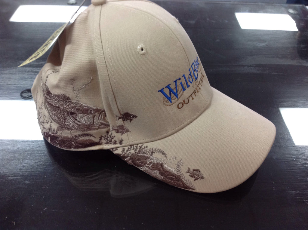 Wild Blue Outfitters Emb Bass Cap