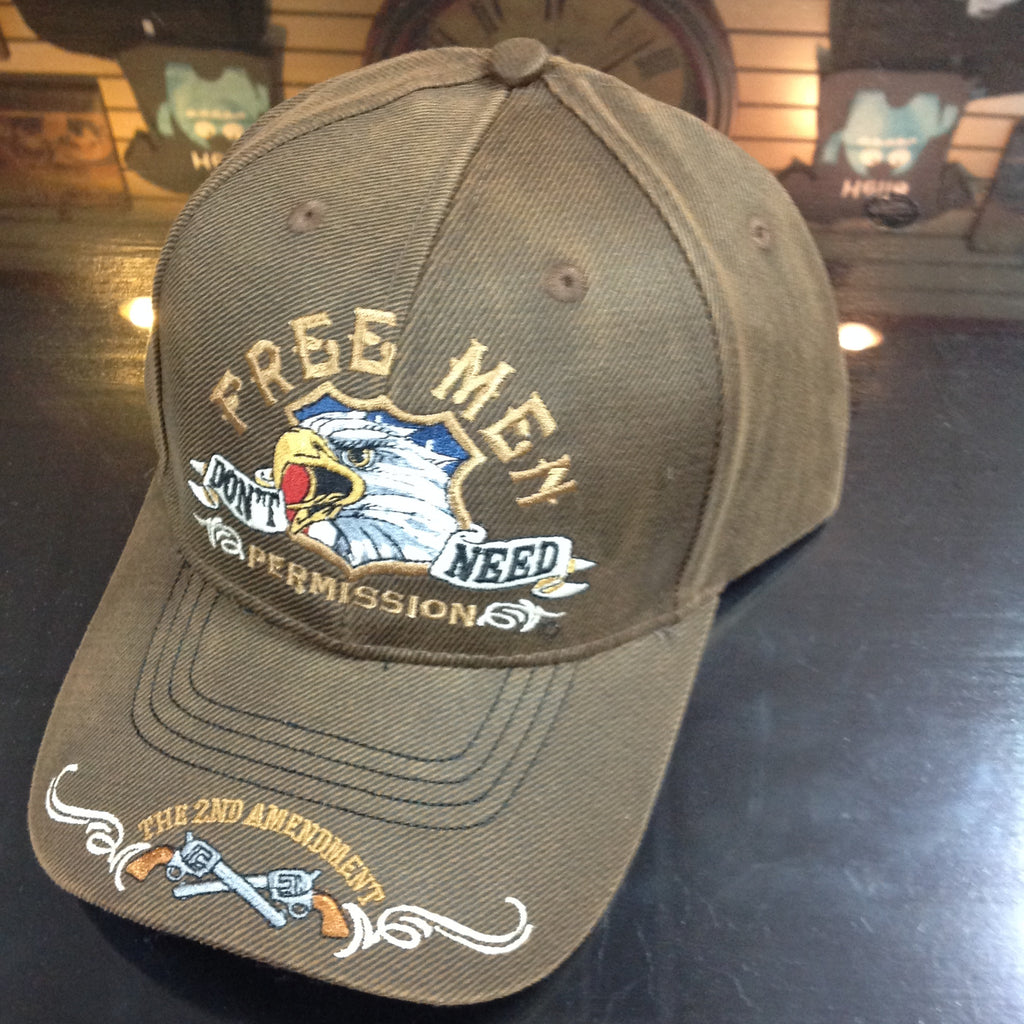 Freedom First Oilskin Cap