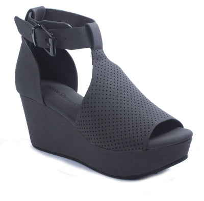 Open Toe Wedge