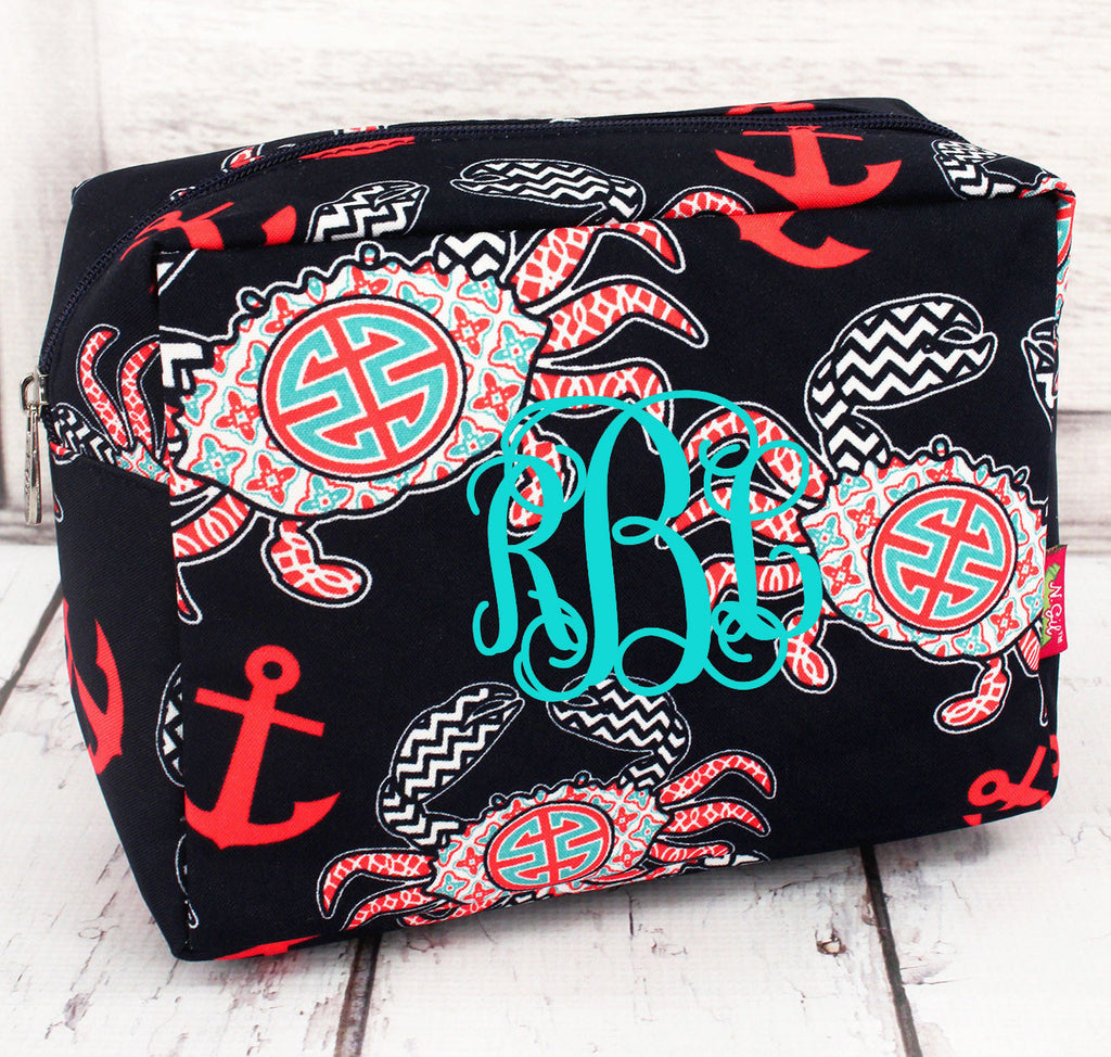 Crab Cosmetic Bag