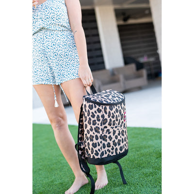 Leopard Cooler Backpack