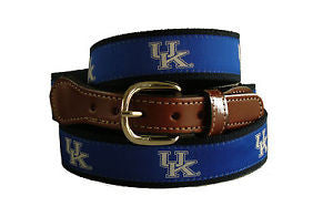 University of Kentucky Men's Ribbon Belt