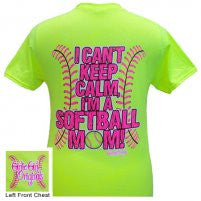 Keep Calm Softball Mom