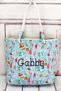 Summer Sailboats Tote Bag