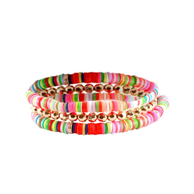 Colorful Brights Bracelet Stack