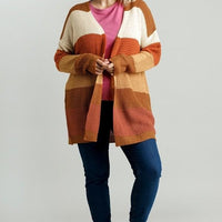 Marsha's Pumpkin Patch Adventure Cardigan (Plus)