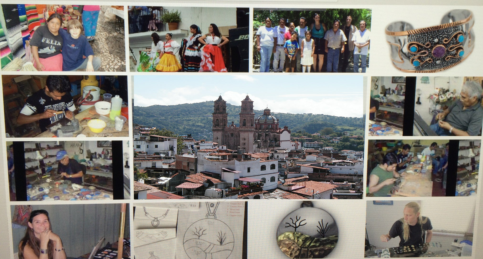 taxco group silver jewelry artist