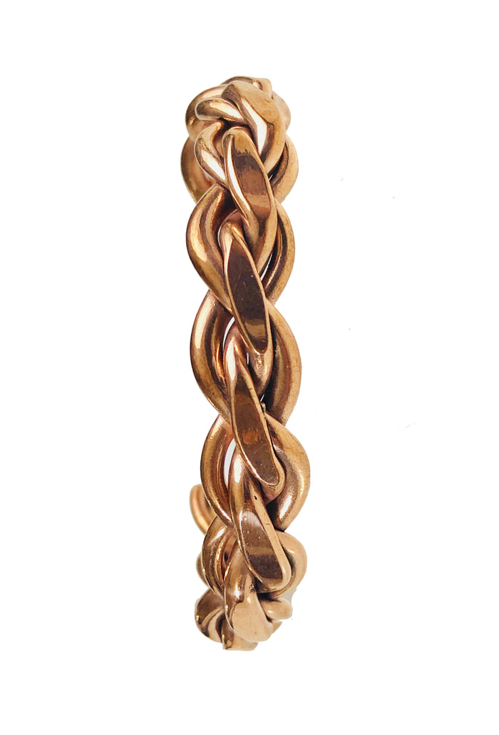 Copper Bracelet - HPSilver, Copper Adjustable Cuff BR.HEC.4015