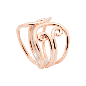 Copper Ring 4002