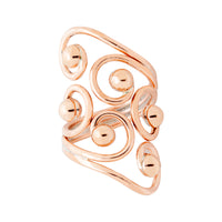 Copper Ring - HPSilver, Copper Ring RG.FEL.4012