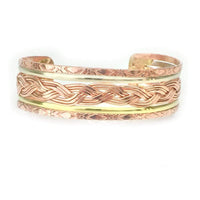 Bracelets Copper Bracelet - HPSilver, Copper Adjustable Cuff BR.HEC.4008