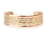 Bracelets Copper Bracelet - HPSilver, Copper Adjustable Cuff BR.HEC.4009
