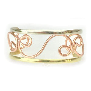 Bracelets Copper Bracelet - HPSilver, Copper Adjustable Cuff BR.HEC.4011