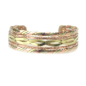 Bracelets Copper Bracelet - HPSilver, Copper Adjustable Cuff BR.HEC.4012