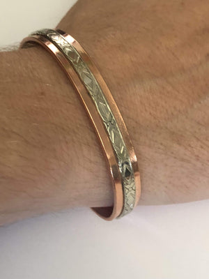 Bracelets Copper Bracelet - HPSilver, Copper Adjustable Cuff BR.HEC.4014