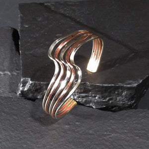 Bracelets Copper Bracelet - HPSilver, Copper Adjustable Cuff BR.HEC.7002