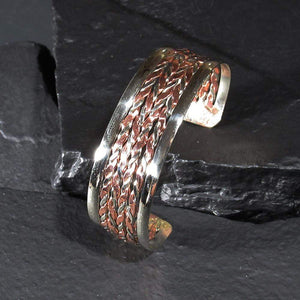 Bracelets Copper Bracelet - HPSilver, Copper Adjustable Cuff BR.HEC.7009