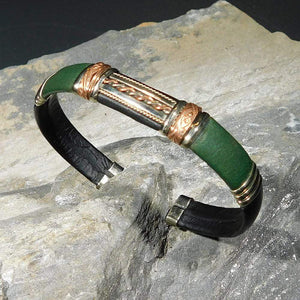 Unique Leather Bracelet 1307