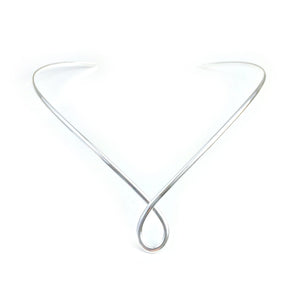 Collars Silver Necklace - HPSilver, Silver Plated Adjustable Collar CL.KIK.5010