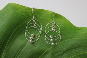 Earrings Sterling Silver Earrings - HPSilver, Sterling Silver Dangle Earrings ER.RIO.1003