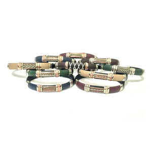 wholesale packs Discount Packs - HPSilver, Unique Leather Bracelets Fall Mix Wholesale Pack of 10  BR.ULB.1300