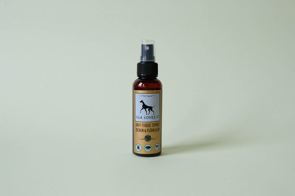 Anti-tick & flea spray