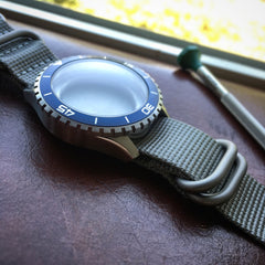 Dark Blue Diver Watch From Dark Seal Collection