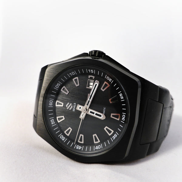 Black PVD with Black Dial - Automatic Wrist Watch