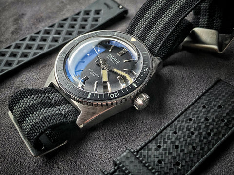 """Sea Storm"" Dive Watch - Limited Run Skin Diver - No Date Reveal"