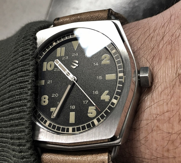 Model C Field Explorer | Swiss Automatic Field Watch - American Microbrand
