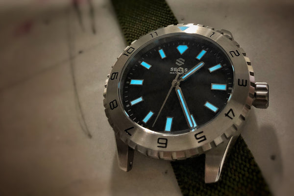 Dark Seal 200M Water Resistant Automatic Sport Watch - American Microbrand